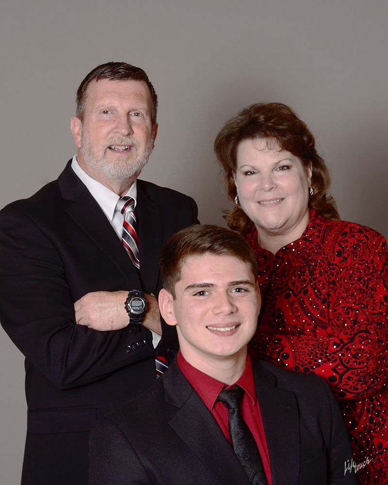 Pastor Martin Fuller, Wife Anne, Son Joseph